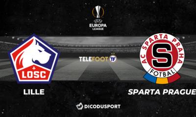Football - Ligue Europa - notre pronostic pour Lille - Sparta Prague