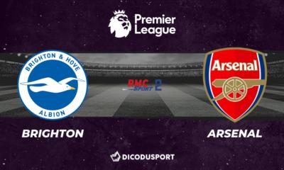 Football - Premier League notre pronostic pour Brighton - Arsenal