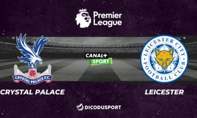 Football - Premier League notre pronostic pour Crystal Palace - Leicester