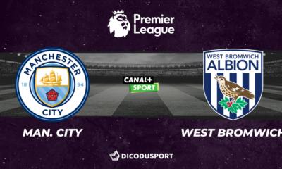 Football - Premier League notre pronostic pour Manchester City - West Bromwich