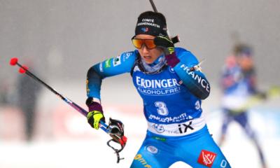 Kontiolahti : la France deuxième du relais femmes derrière la Suède