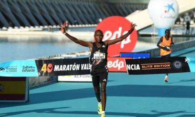 Marathon de Valence : Evans Chebet et Peres Jepchirchir s'imposent