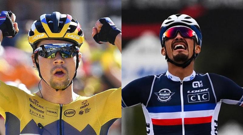 Vélo d'Or 2020 : Primoz Roglic et Julian Alaphilippe récompensés