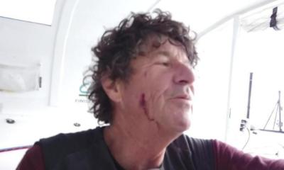Vendée Globe : Jean Le Cam attaqué par un poisson volant