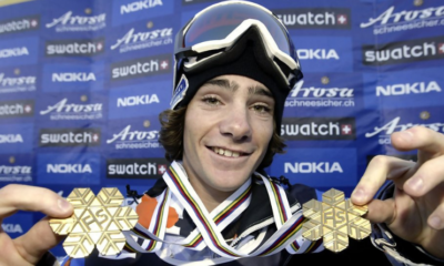 20 janvier 2007 - Mathieu Crepel, double champion du monde