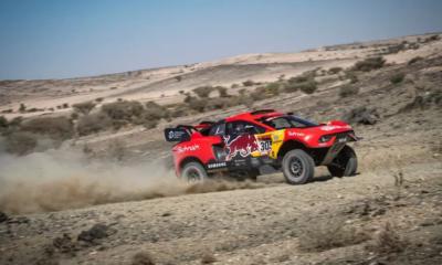 Dakar 2021 - Sébastien Loeb satisfait de sa performance sur la 2ème étape