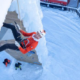 Escalade de cascade sur glace - Louna Ladevant sur le toit de l'Europe