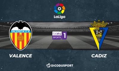 Football - Liga notre pronostic pour Valence - CF Cadiz