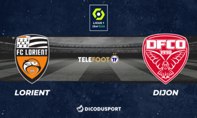 Football - Ligue 1 notre pronostic pour Lorient - Dijon
