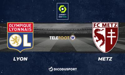 Football - Ligue 1 notre pronostic pour Lyon - Metz