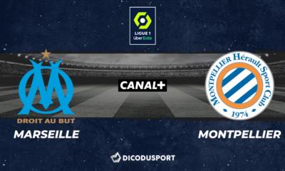 Football - Ligue 1 notre pronostic pour Marseille - Montpellier