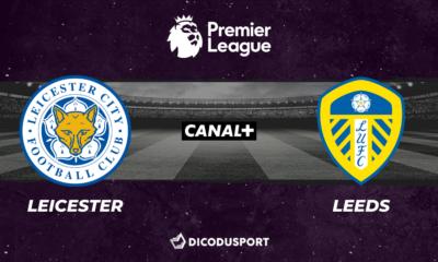 Football - Premier League notre pronostic pour Leicester - Leeds