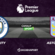 Football - Premier League notre pronostic pour Manchester City - Aston Villa