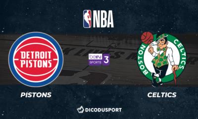 NBA notre pronostic pour Detroit Pistons - Boston Celtics