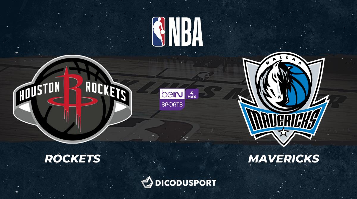 NBA notre pronostic pour Houston Rockets - Dallas Mavericks