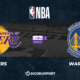 NBA notre pronostic pour Los Angeles Lakers - Golden State Warriors