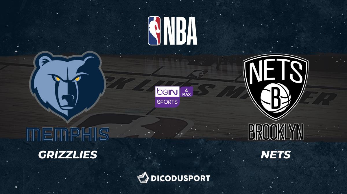 NBA notre pronostic pour Memphis Grizzlies - Brooklyn Nets