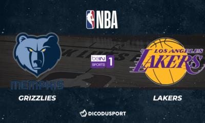 NBA notre pronostic pour Memphis Grizzlies - Los Angeles Lakers