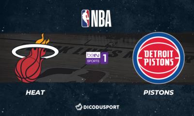 NBA notre pronostic pour Miami Heat - Detroit Pistons