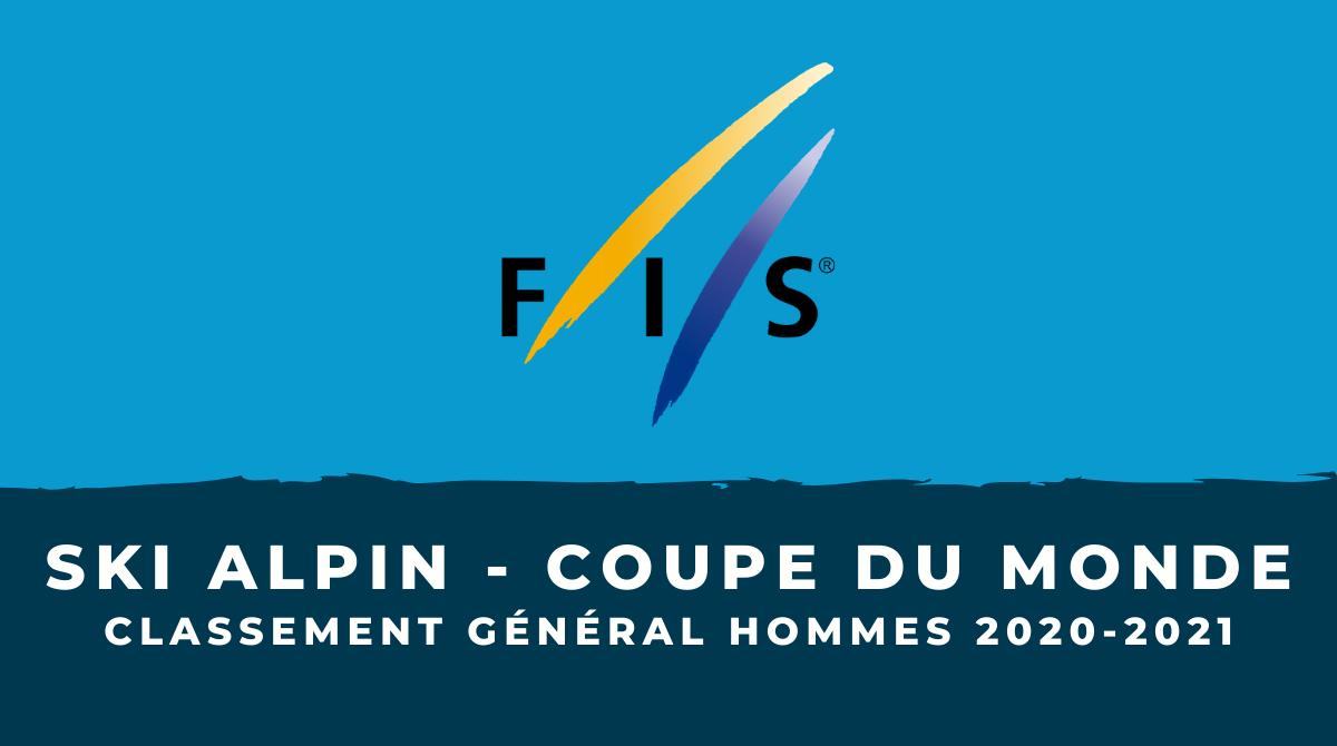 Ski alpin - Coupe du monde 2020-2021 - Le classement général hommes