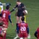 [Vidéo] Surexcité, Josaia Raisuqe soulève l'arbitre et prend un carton rouge