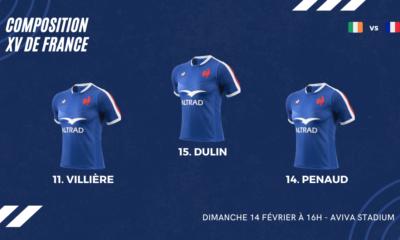 Bleus - La composition du XV de France pour le déplacement en Irlande