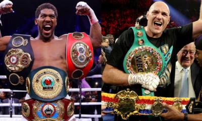 Boxe poids lourds : La date du choc Fury-Joshua est quasiment connue