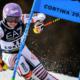 Cortina d'Ampezzo - Shiffrin meilleur temps de la 1ère manche en géant, Worley 9ème