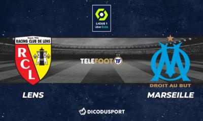 Football - Ligue 1 notre pronostic pour Lens - Marseille