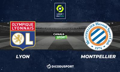 Football - Ligue 1 notre pronostic pour Lyon - Montpellier