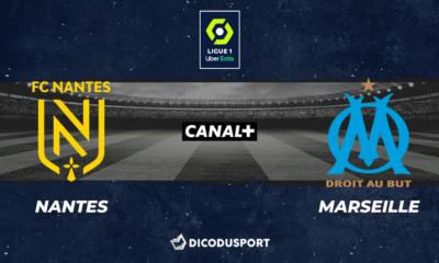 Football - Ligue 1 notre pronostic pour Nantes - Marseille