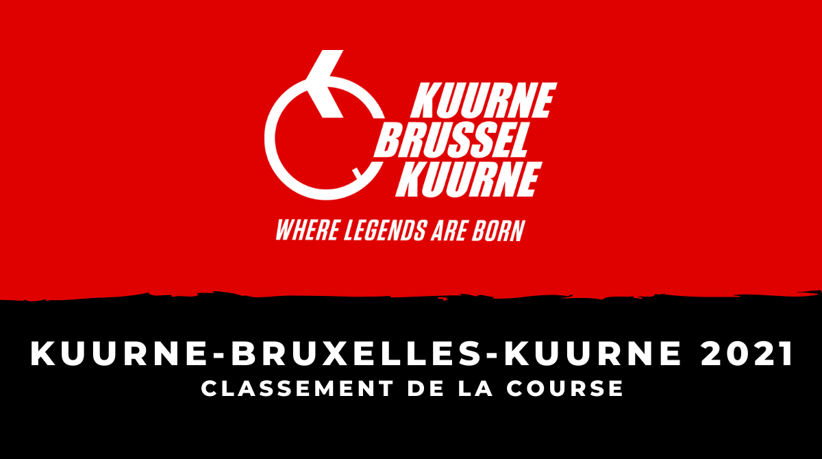Kuurne-Bruxelles-Kuurne 2021 : le classement de la course