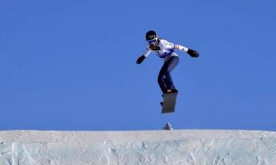 Mondiaux de snowboardcross - La paire française Le Blé Jacques-Pereira De Sousa en bronze
