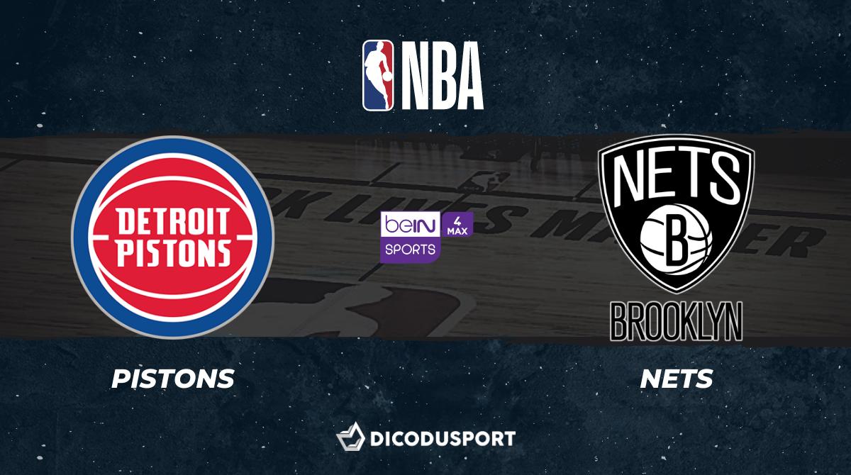NBA notre pronostic pour Detroit Pistons - Brooklyn Nets