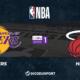 NBA notre pronostic pour Los Angeles Lakers - Miami Heat