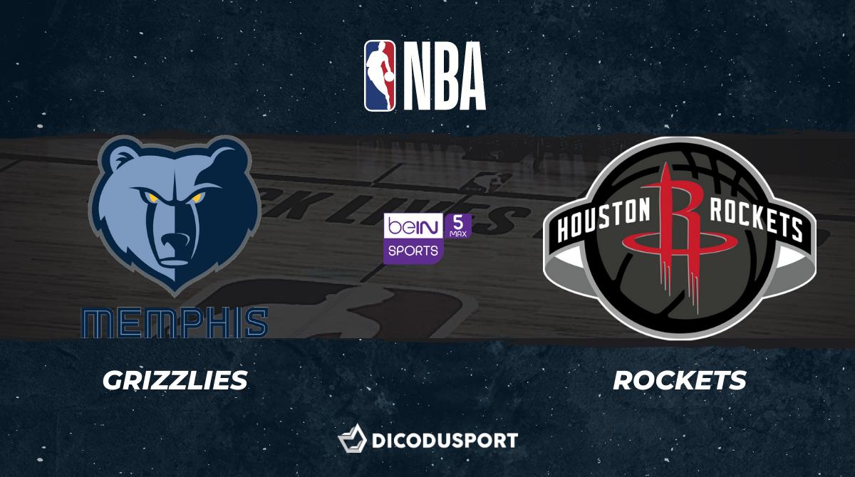 NBA notre pronostic pour Memphis Grizzlies - Houston Rockets