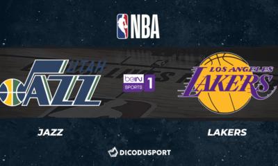 NBA notre pronostic pour Utah Jazz - Los Angeles Lakers