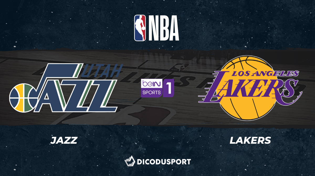 NBA notre pronostic pour Utah Jazz - Los Angeles Lakers
