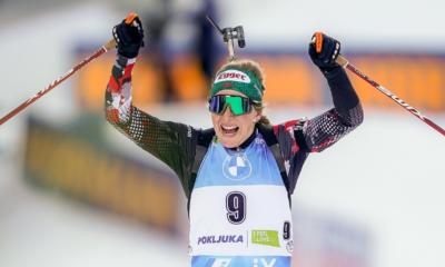 Pokljuka - Lisa Theresa Hauser sacrée championne du monde de la mass start, les Bleues craquent