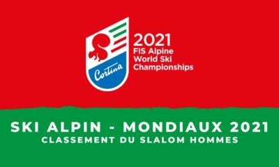 Ski alpin - Championnats du monde 2021 - Le classement du slalom hommes
