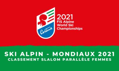 Ski alpin - Championnats du monde 2021 - Le classement du slalom parallèle femmes