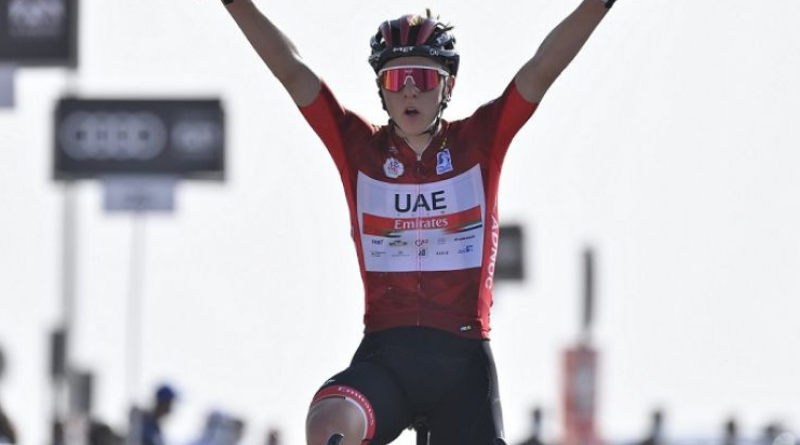 UAE Team Emirates blinde Tadej Pogacar