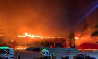 [Vidéo] Le circuit Moto GP d'Argentine ravagé par un incendie