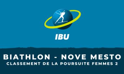 Biathlon - Nove Mesto - Le classement de la deuxième poursuite femmes