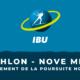 Biathlon - Nove Mesto - Le classement de la poursuite hommes