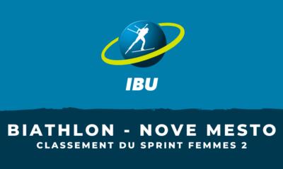Biathlon - Nove Mesto : le classement du deuxième sprint femmes