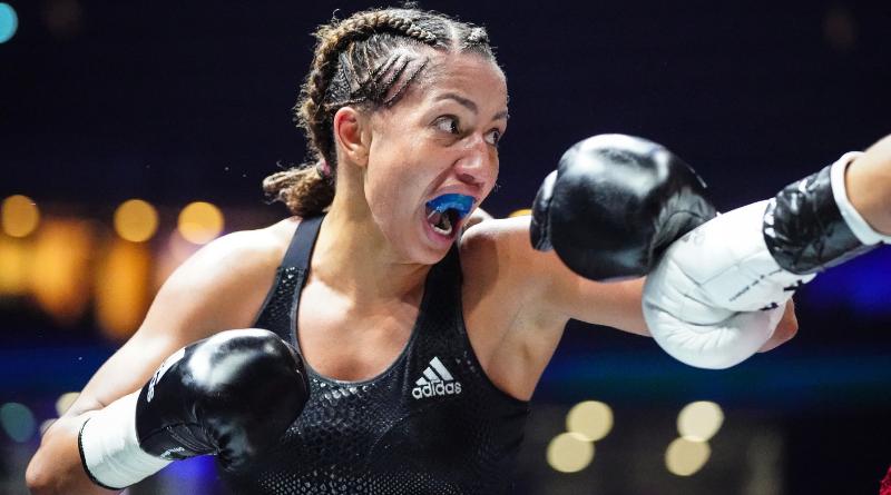 Boxe : Estelle Yoka-Mossely conserve son titre IBO