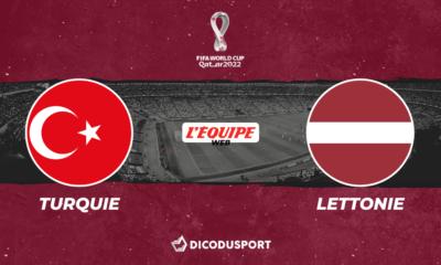 Football – Q. Coupe du monde notre pronostic pour Turquie - Lettonie