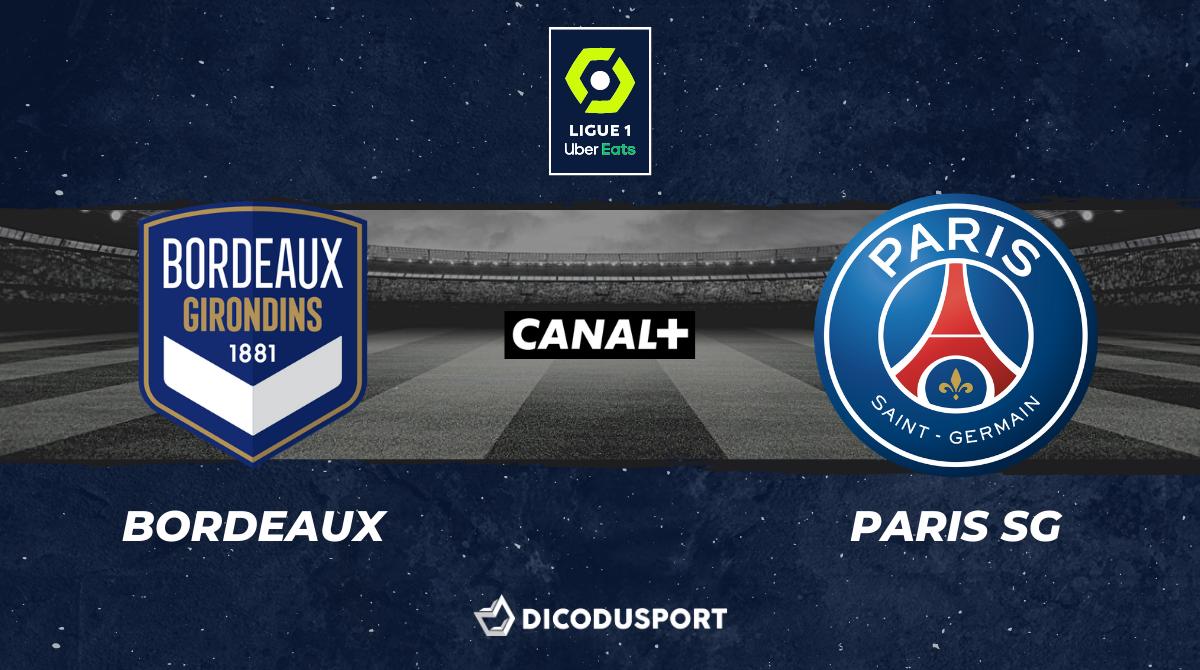 Football - Ligue 1 notre pronostic pour Bordeaux - Paris SG