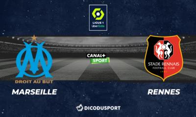 Football - Ligue 1 notre pronostic pour Marseille - Rennes